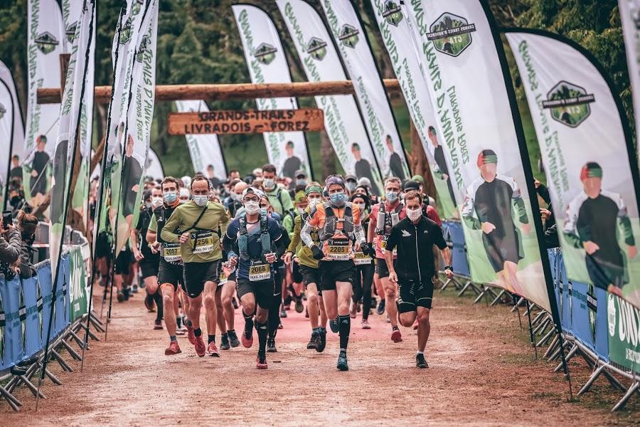 Trail d'Auvergne à Aubusson - 10/010/2020.