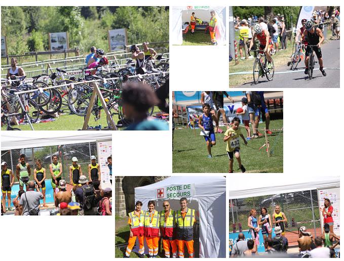 Triathlon aydat 25 juin 2017